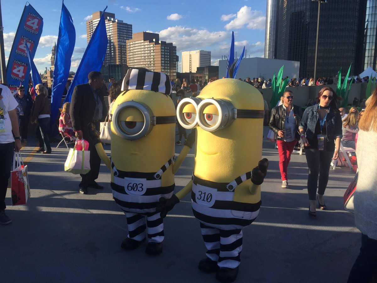 The minions are here! #FordFireworks https://t.co/HWJMPkr8ZU