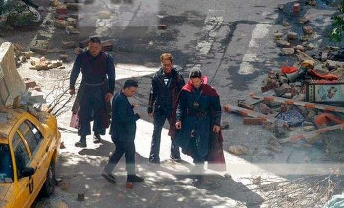 Avengers: Infinity War Set Photo