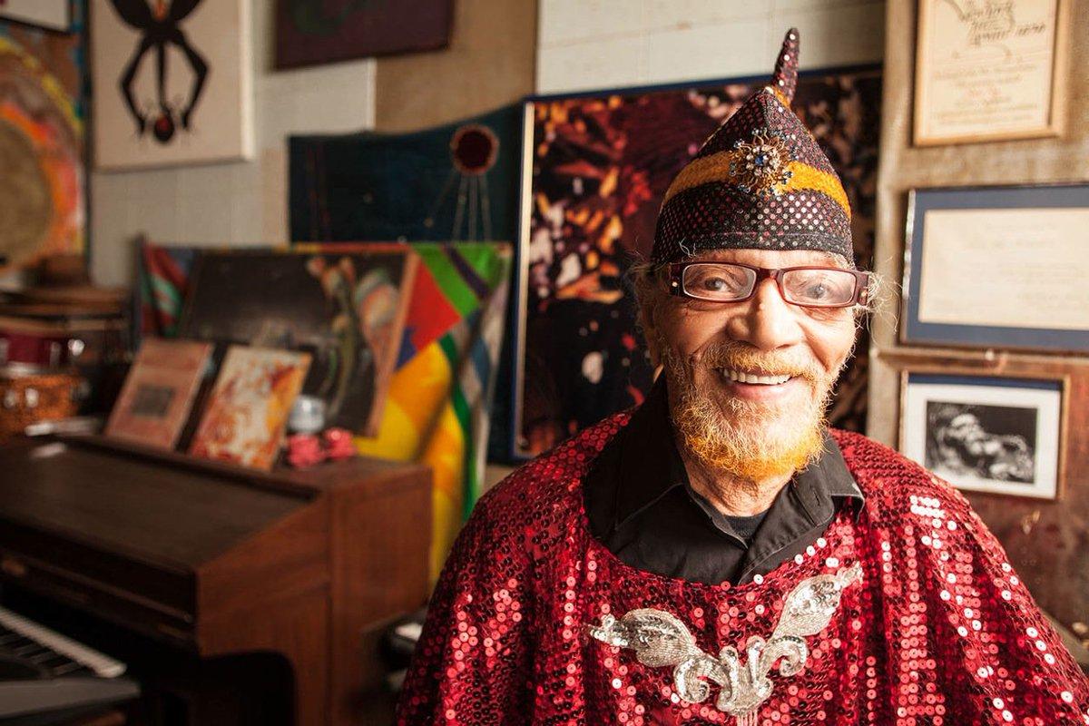 Sun Ra Arkestra&#39;s Marshall Allen on dedicating his life to music #cosmic #jazz  http:// daily.redbullmusicacademy.com/2015/03/marsha ll-allen-feature &nbsp; …  <br>http://pic.twitter.com/QO2vT1NbqM