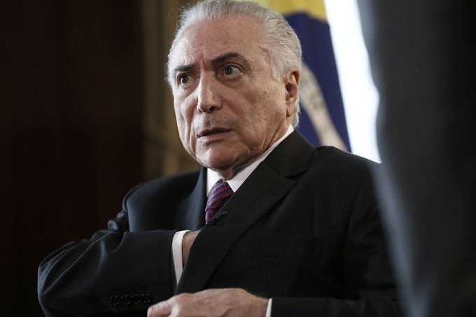 Brazil President Michel Temer charged with corruption by chief prosecutor https://t.co/c6aA9yVmEP
