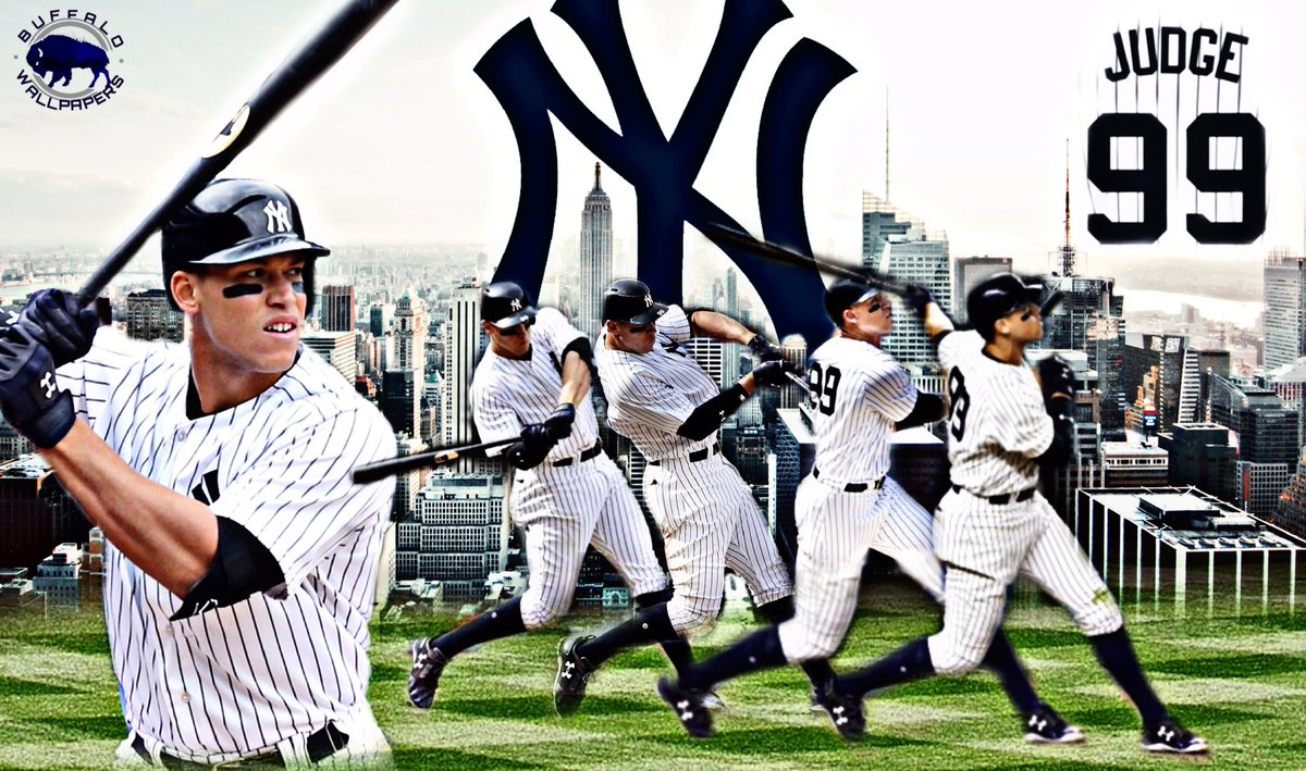 Jordan Santalucia On Twitter Aaron Judge New York Yankees Wallpaper