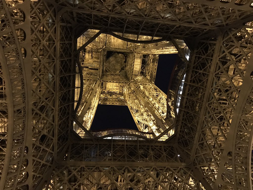 test Twitter Media - Day 5 Paris: Under Eiffel Tower! https://t.co/99C34tyyqj