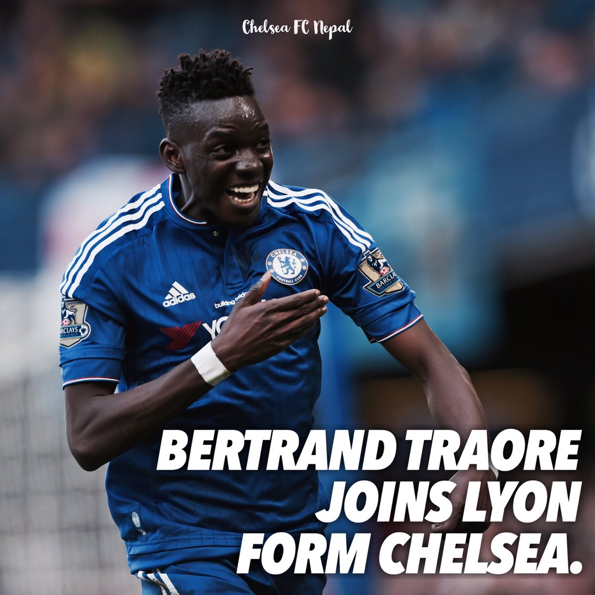 Bertrand Traore has officially completed a move to Ligue 1 giants Lyon, valued at just €10m. #traore #lyon #chelsea #cfc<br>http://pic.twitter.com/uj46pKeyCz