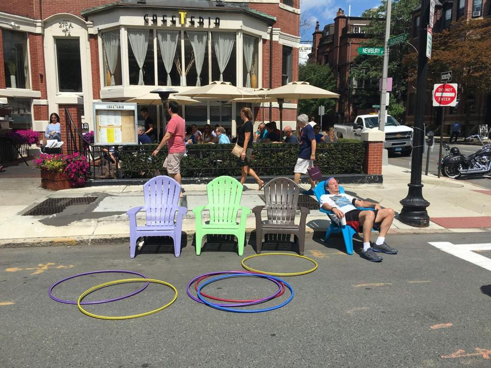 Open Newbury Street, which bars the road to cars, will return this summer on July 23, Aug. 13 and September 10. https://t.co/LlCu99kpGT