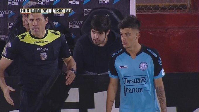 Valentín Barbero, de 16 años y 1.87m de estatura, hace su debut en la Primera División de Belgrano, que empata 0-0 ante Huracán.