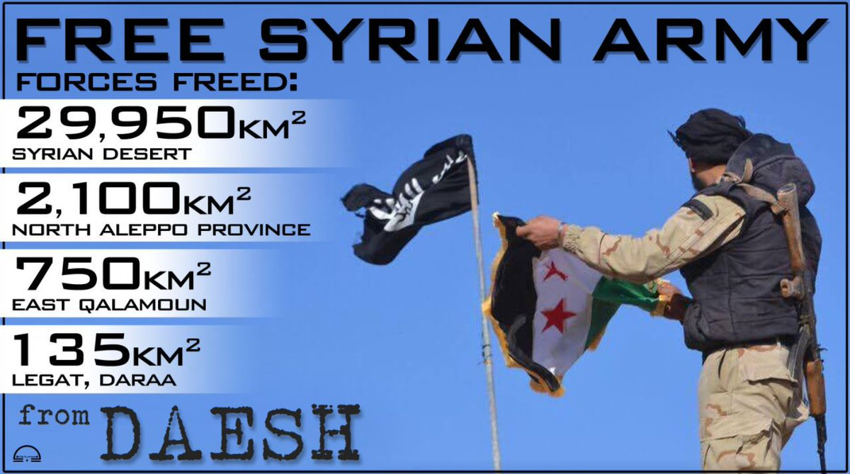 #FSA || #Syria  Stats &amp; geography of operations as Free Syrian Army forces take fight to #Daesh across Syria  #Video  https://www. youtube.com/watch?v=ZGl3FP mG8c0 &nbsp; … <br>http://pic.twitter.com/6VEZV2BAqa