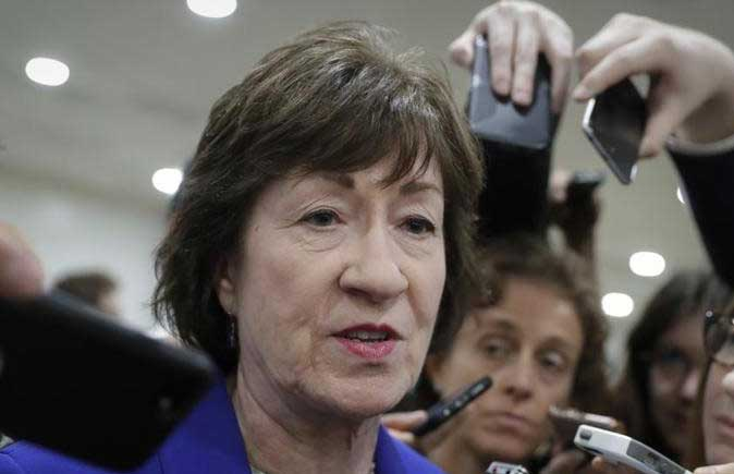 Susan Collins has joined a small but potentially decisive rebellion in the GOP in not supporting the health bill. https://t.co/uJ8RGU53EQ