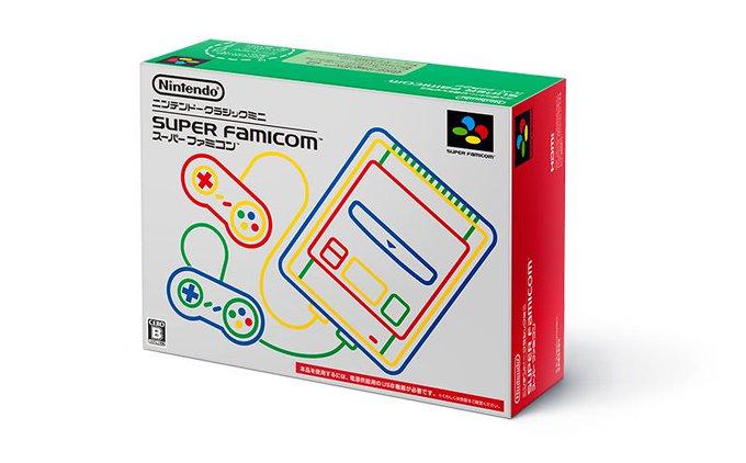 Nintendo announces mini Super Famicom for Japan https://t.co/g6vFHOtbXY