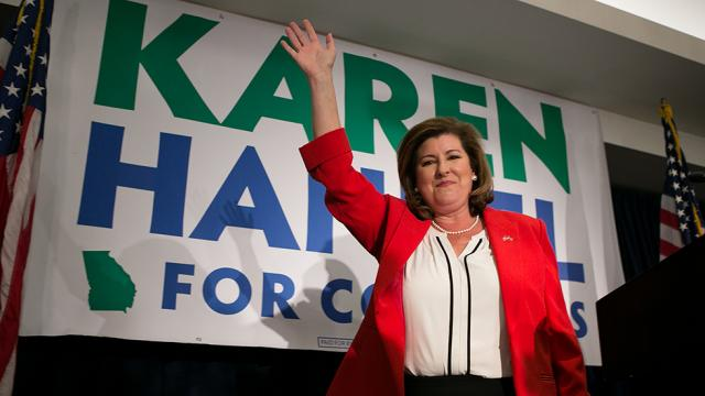 Georgia special election winner Karen Handel sworn into Congress https://t.co/GxMcZimEYo
