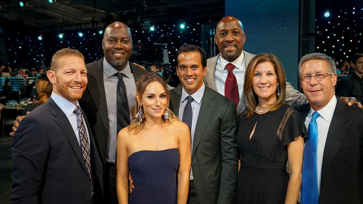 The Miami HEAT is represented well at tonight's #NBAAwards in NYC! htt...
