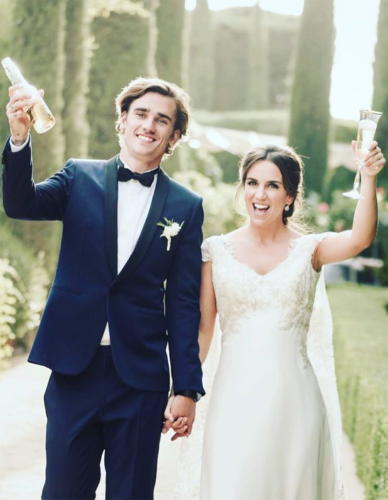 #People Antoine Griezmann marié à Erika Choperena : une lune de miel a...