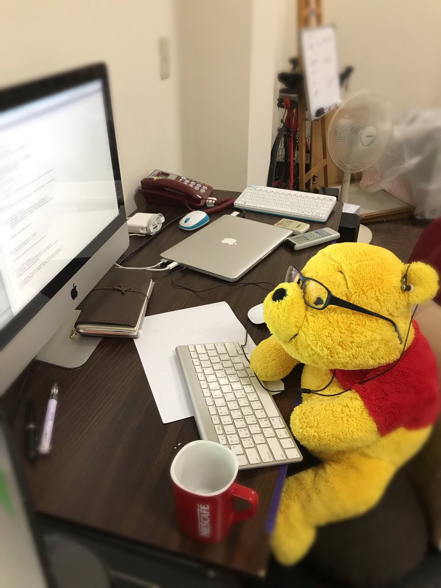 Work hard. Winnie the Pooh programmer.  . . . #IndieGame #GameDev #IndieDev #GamersUnite #gamedesign #Programmer #Coding #CodeNewbie<br>http://pic.twitter.com/9VAP7LbOix