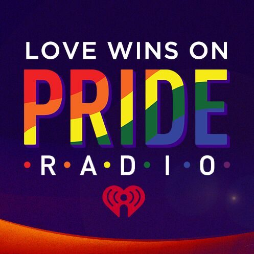 ❤️💛💚💙💜 Love always wins. Listen and celebrate with Pride Radio https:/...