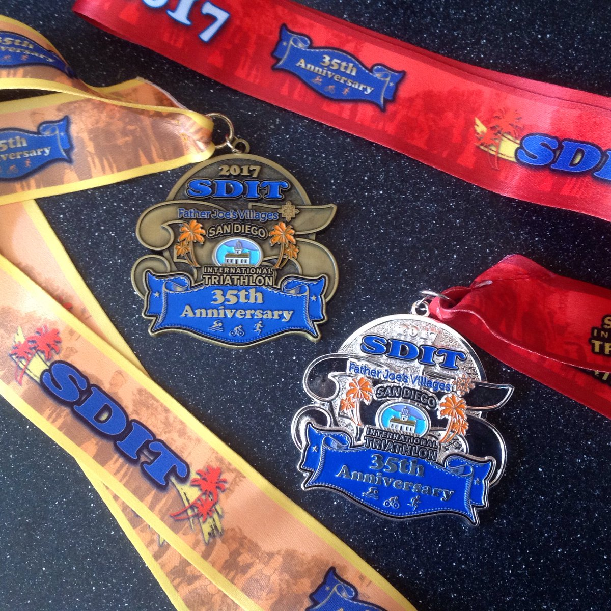 test Twitter Media - #MedalMonday: A So Cal summer tradition: @SDTriSeries San Diego International Triathlon. Congratulations to everyone who raced this weekend! https://t.co/9aiV12gDX7