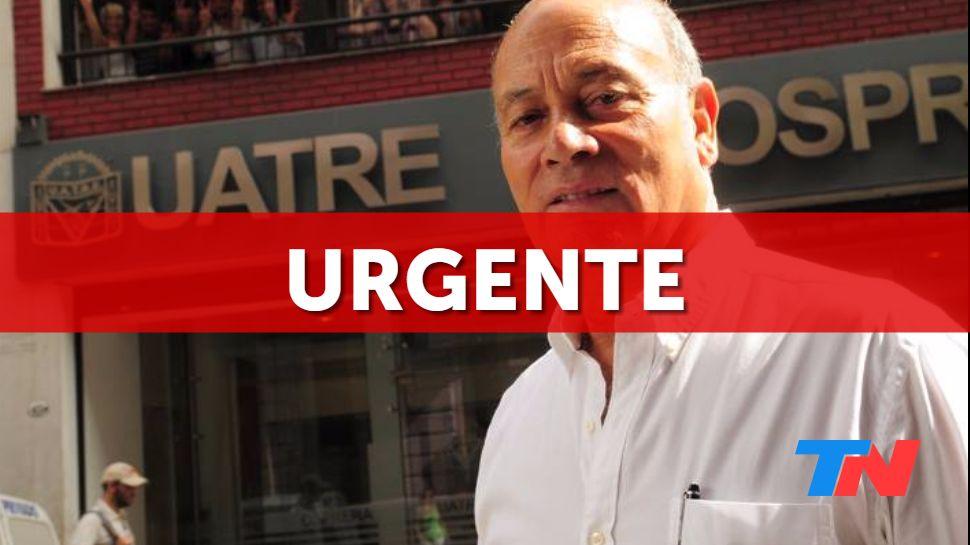 """[URGENTE] Murió el sindicalista Gerónimo """"Momo"""" Venegas, confirmó su v..."""