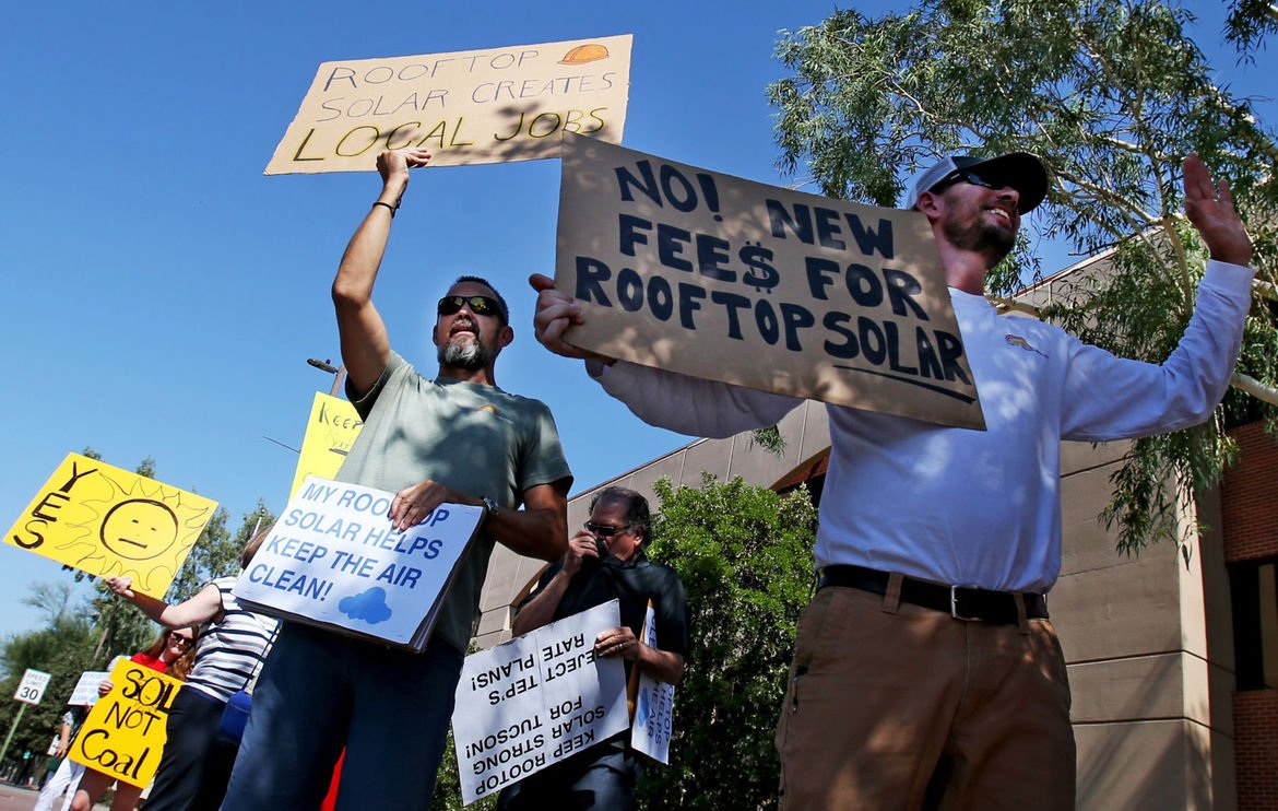 Tucson Electric Power's solar rate plan jeered, cheered at public hearing https://t.co/NLQSEmjywu