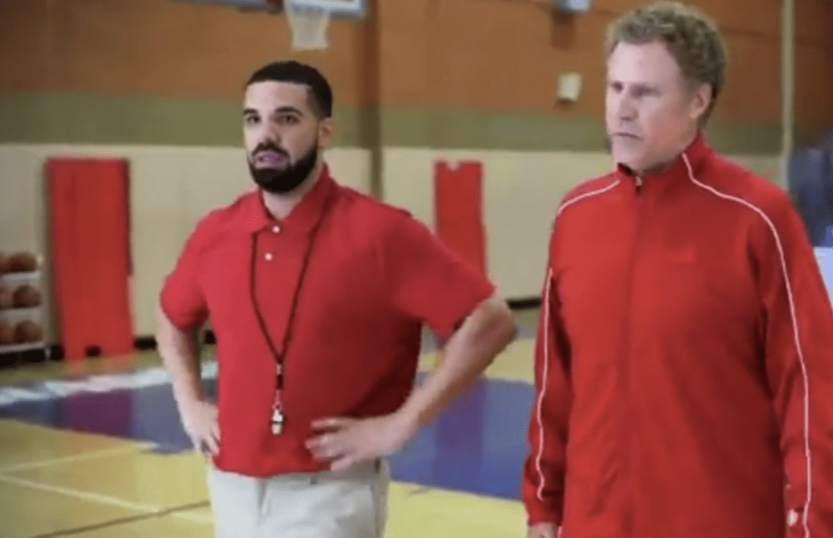 Watch Drake and Will Ferrell roast DeMar DeRozan in the NBA Awards' op...