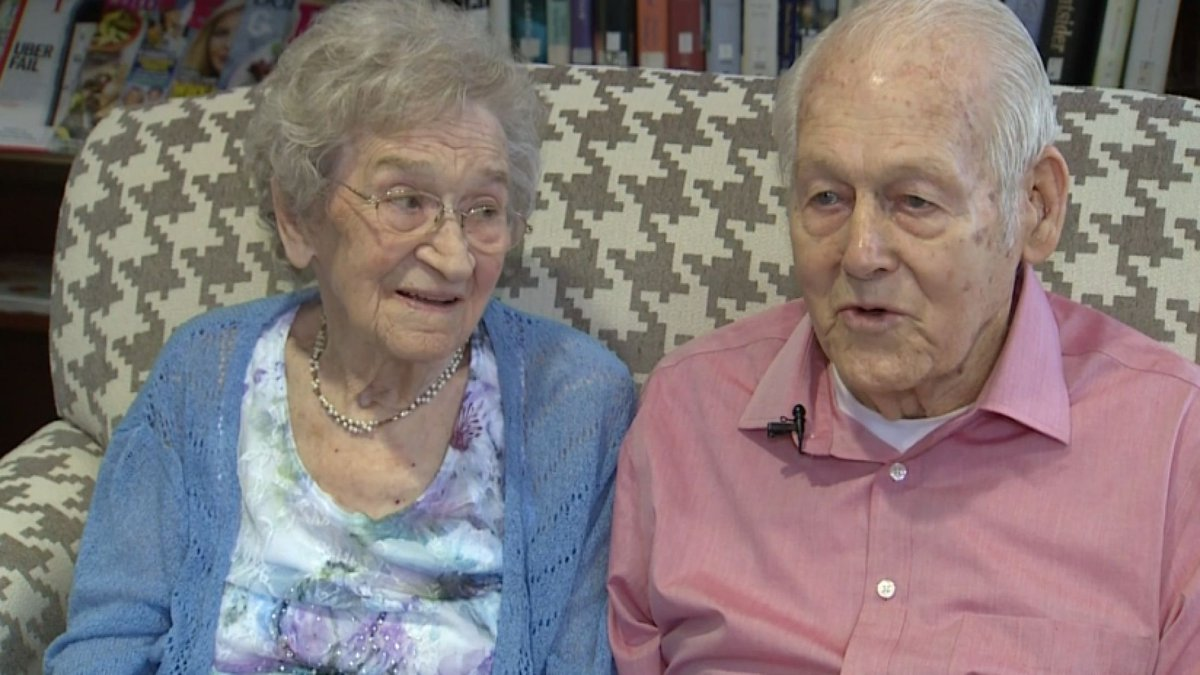 Grand Rapids, Michigan couple celebrated their 80th wedding anniversar...