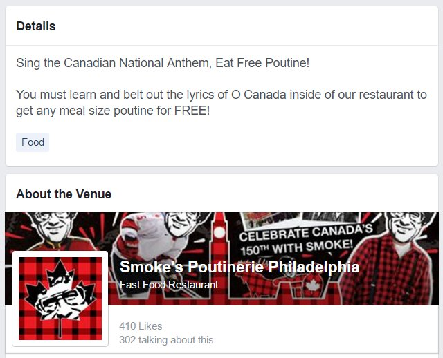 Sewwwwwwwwwwww......... this is happening at Smoke&#39;s @Poutinerie in #Philly on #CanadaDay:  https://www. facebook.com/events/3118117 32610104 &nbsp; …  #Poutine  <br>http://pic.twitter.com/SJoGRe4ubI