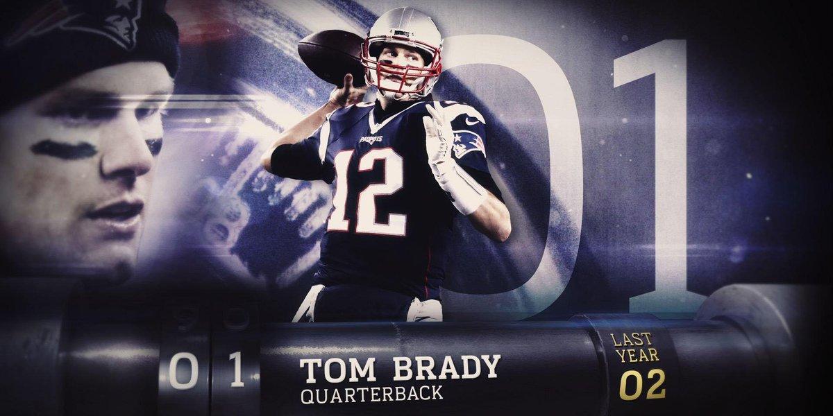 #NFLTop100 Players of 2017  1. Tom Brady 2. @VonMiller  3.  @juliojone...