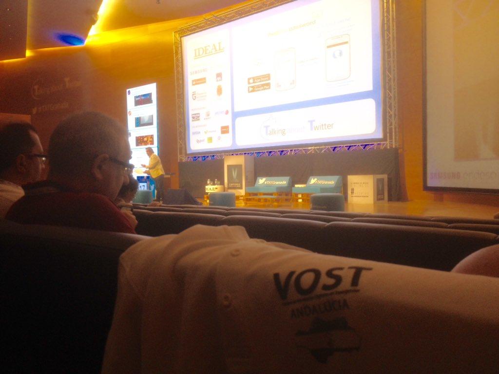 Arranca #TATGranada17 con @VOSTandalucia @VOSTcat y @vostSPAIN añorand...