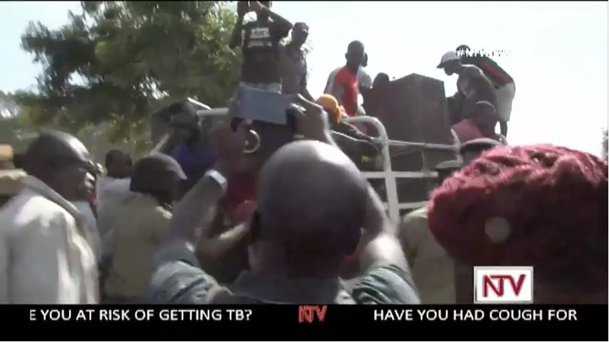 LIVE: Kyadondo East By-election Campaigns. Police heavily placed aroun...