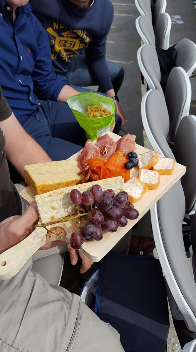 @RichieFirth No need to smuggle in food to lords #picnic #cheeseboard <br>http://pic.twitter.com/sIpUuOkdke