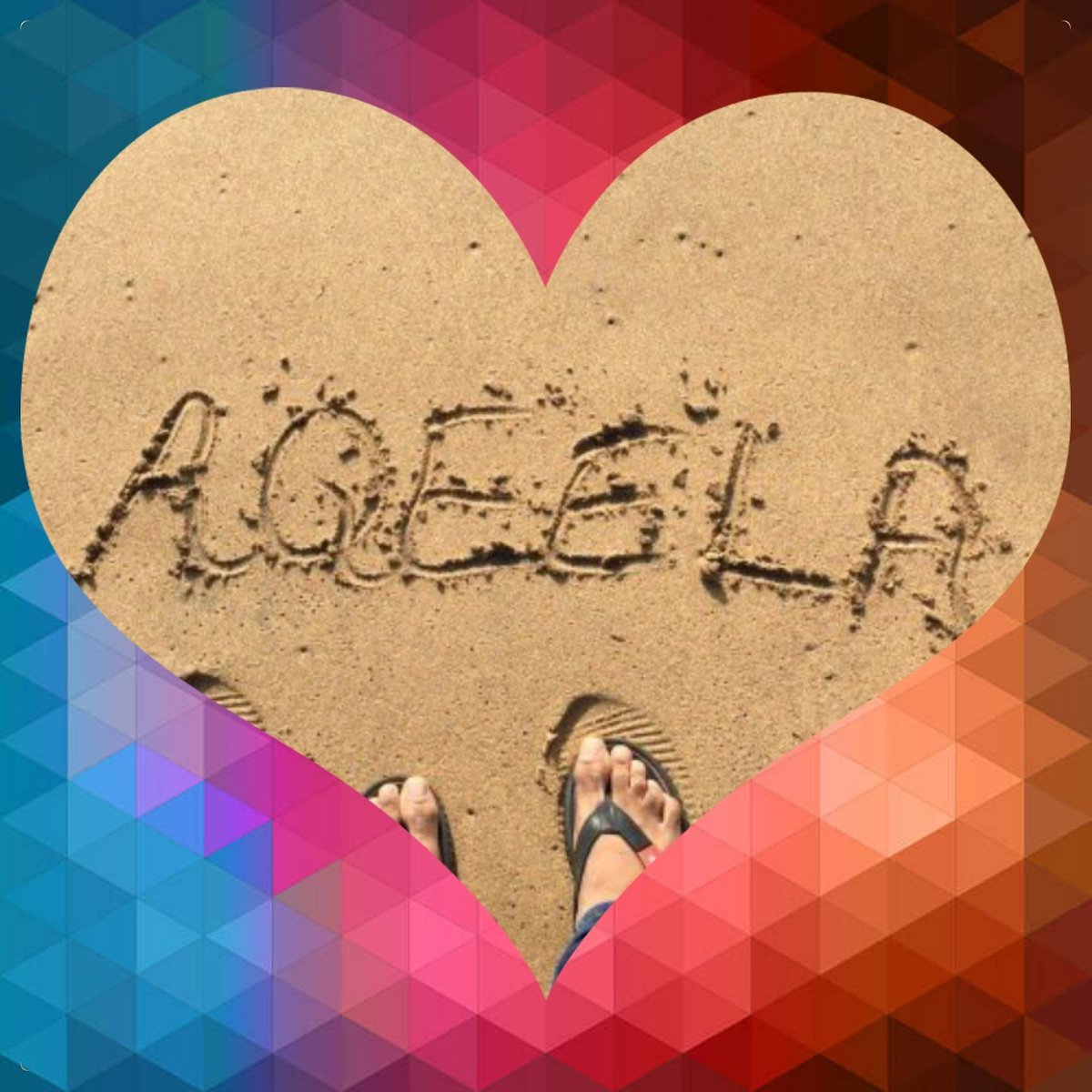 aqeela name love