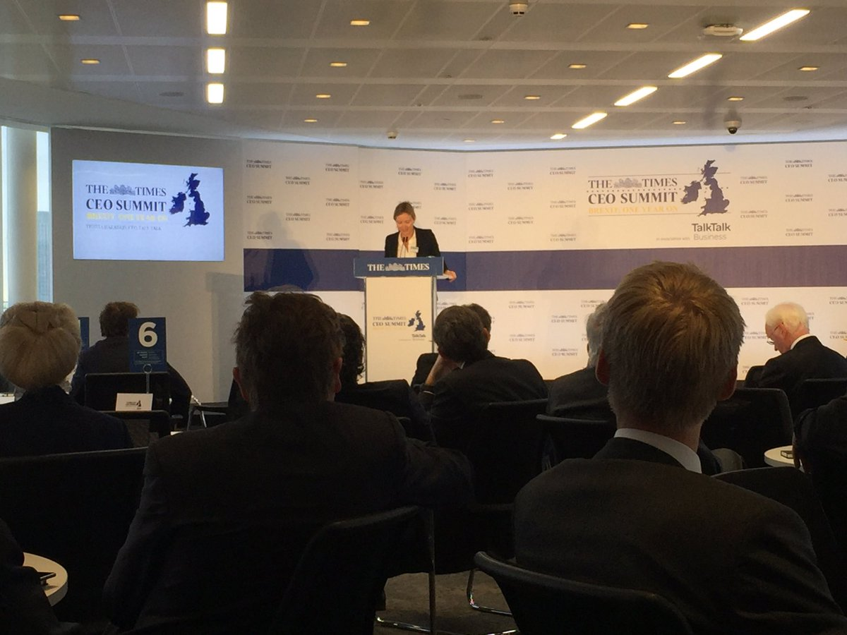 The @TimesBusiness #TimesCEOSummit is underway. Thanks to @TalkTalkBiz...