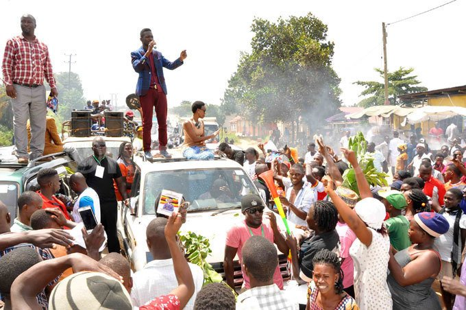 KYADONDO EAST POLLS: Police blocks Bobi Wine rally More details coming...