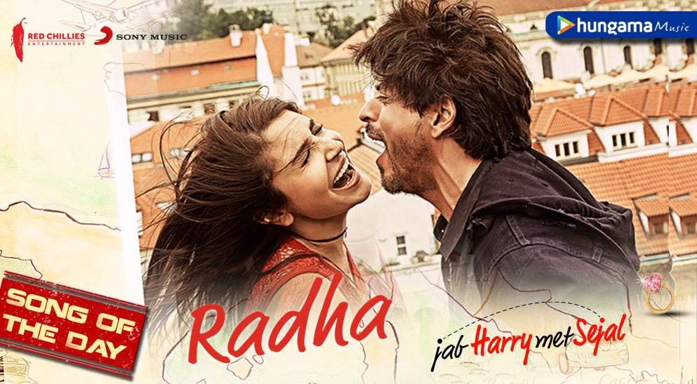 Our #TuesdayThoughts are fixed on @iamsrk's #Radha  -> https://t.co...