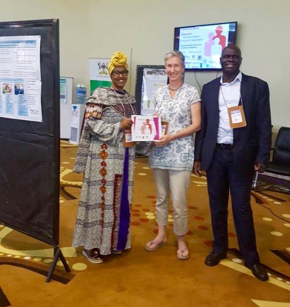 Kenya Red Cross wins 3rd position in poster award at #CBA11. Kenya Red Cross is part of Partners for Resilience in Kenya  @RCClimate https://t.co/8tCarQxPYN