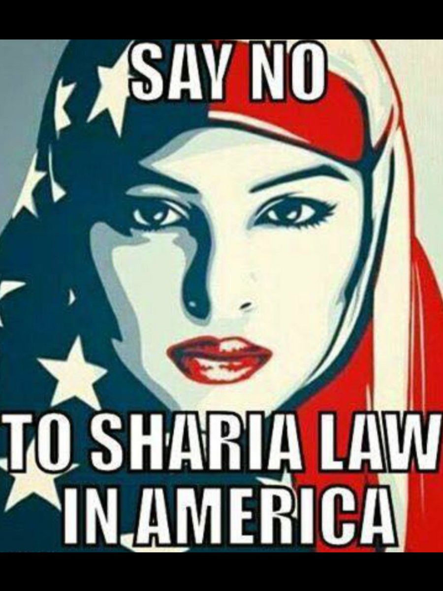 #No SHARIA #No CAIR #No common core #No Burkas #No Refugees #No Muslim brotherhood~Our customs~OUR COUNTRY~NO INVADER EVER TAKING IT~♡~ <br>http://pic.twitter.com/d4p01mbMUb