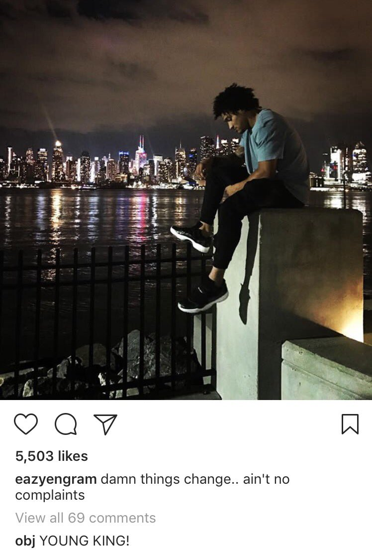 Mr. @OBJ_3 with a comment on @EvanEngram insta pic  #Giants <br>http://pic.twitter.com/9YqdnMxH89