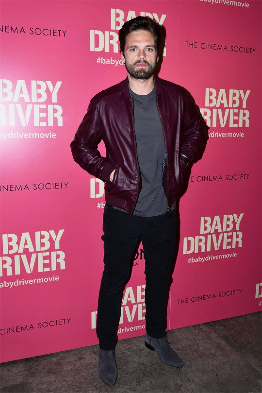 #SebastianStan at a screening of &quot;Baby Driver&quot; in NYC on Jun 26th 2017 <br>http://pic.twitter.com/S2Od4AWLFa