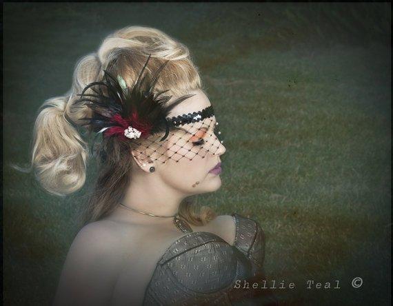 Great Gatsby Headband Flapper Headband 1920s Head by IceGreenEyes http...