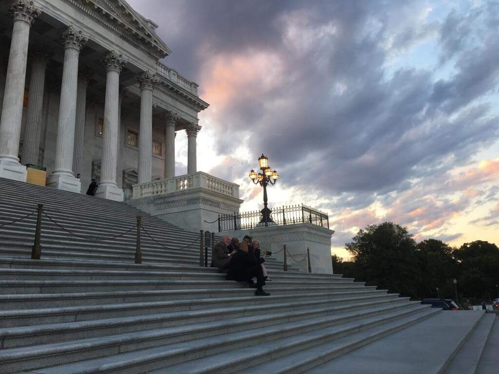 1. Tonight, something kinda magical happened on the steps of the Capitol. It started like this: