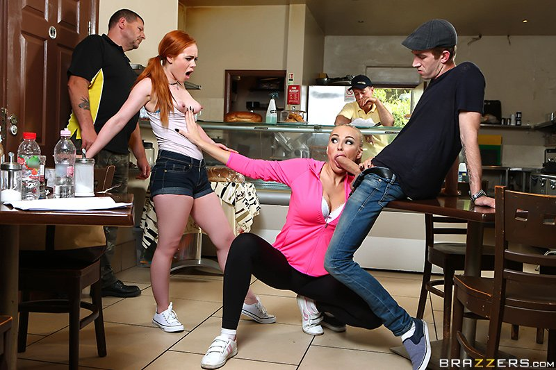 #NewZZ 'Fries With That Fuck' ft. @EllaHughesXXX @kaylagreenxxx @Danny...