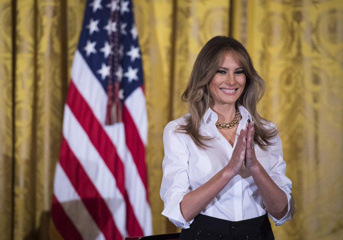 #Mode Mélania Trump, serait-elle en train de devenir une icône glamour...