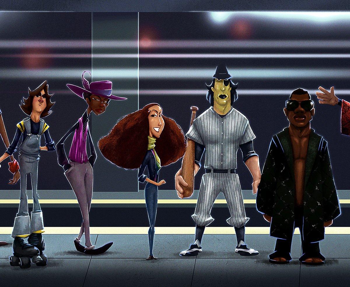 Amazing Illustrations of The Warriors Characters https://t.co/KU23HCaU...