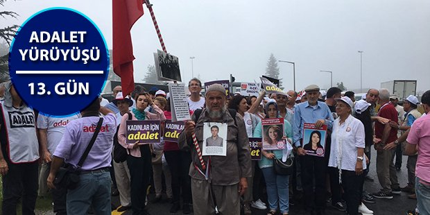 Adalet Yürüyüşü'nün 13. günü; Gezi ailelerinden destek https://t.co/1q...