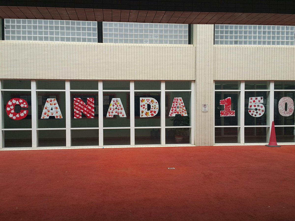 Kindergarten art to celebrate Canada 150. #tismacao https://t.co/PY6a0...