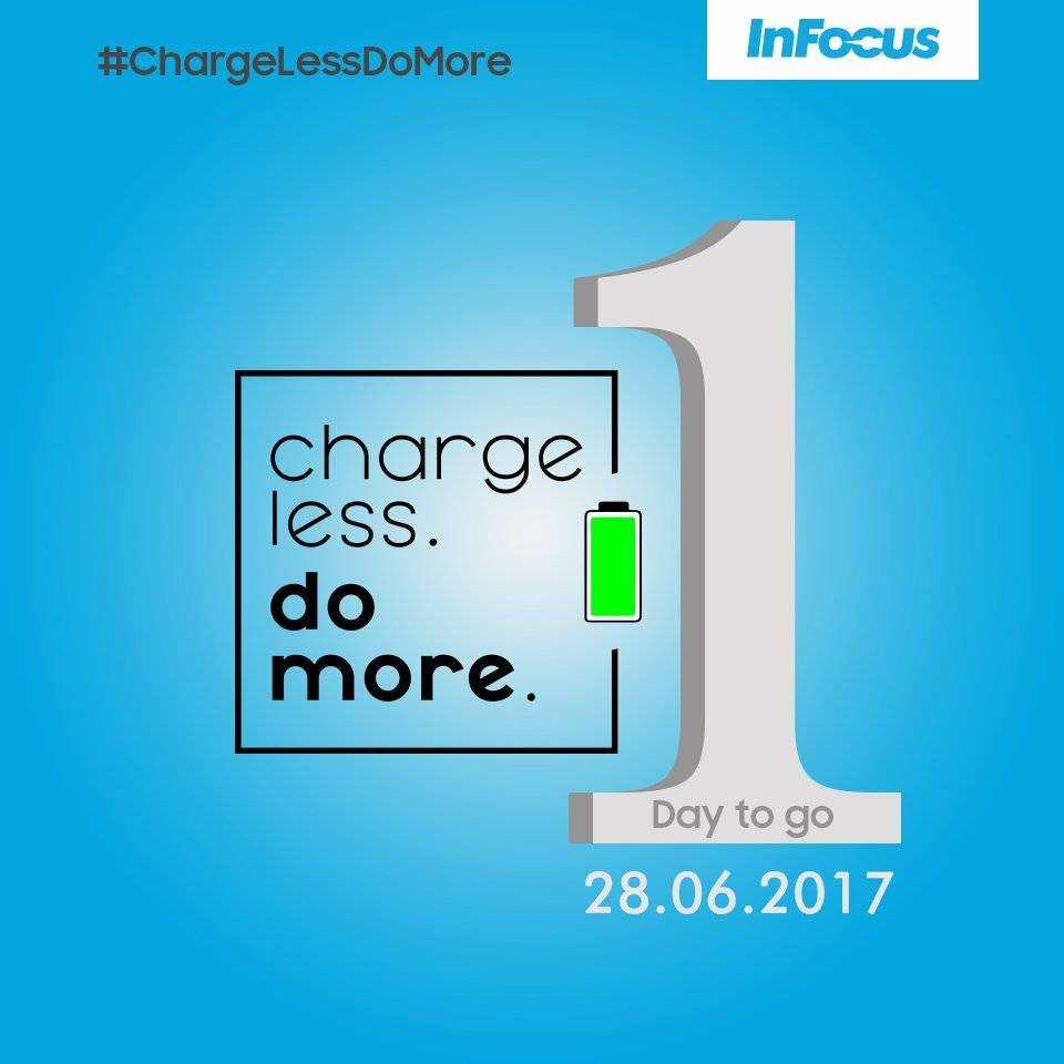 @InFocus_IN launch is creating a lot of buzz. One day to go! #ChargeLe...