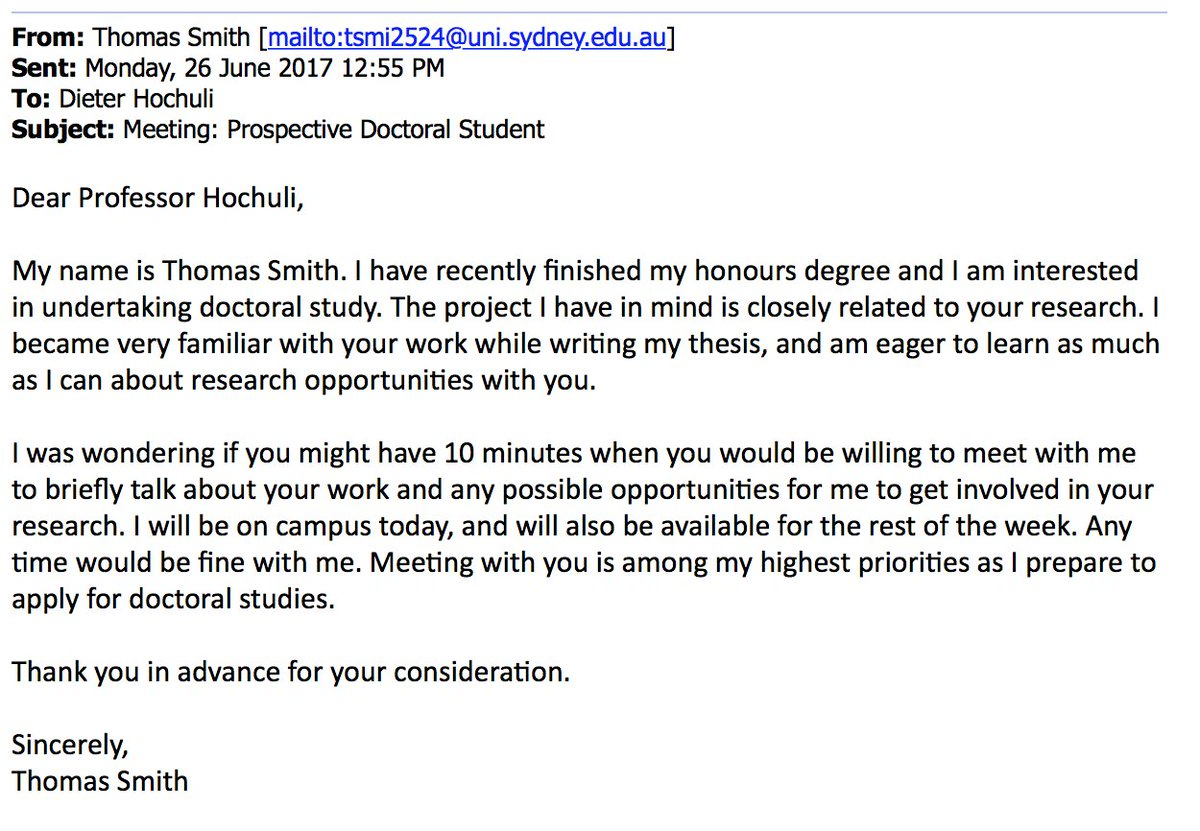 Help with dissertation writing emails