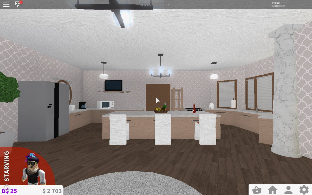 Fraux on twitter rbx coeptus bloxburgnews my house on for Dining room ideas bloxburg