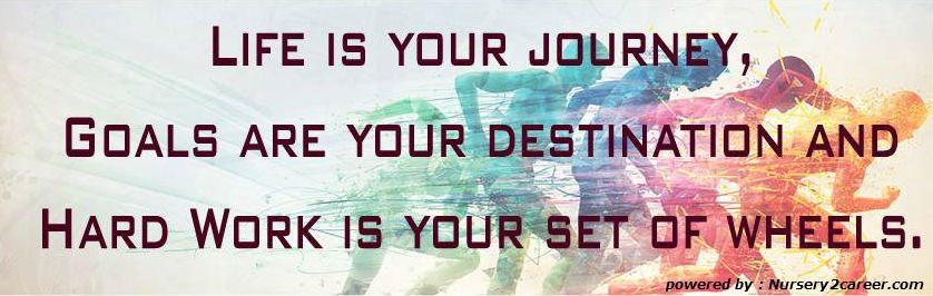 &quot;LIFE IS YOUR #JOURNEY, GOALS ARE YOUR DESTINATION AND HARD WORK IS YOUR SET OF WHEELS.&quot; <br>http://pic.twitter.com/eDSeeiaYTZ