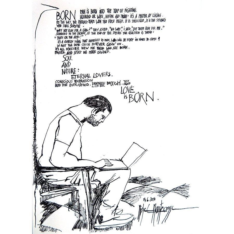 #drawing #Montecrossa Born @RSMuseum @Chaos_Fractals @thefollowmg @monarkgallery @artgully @pencilkings @yzcyzf @weshareart @IRetweetArt<br>http://pic.twitter.com/wegJHd790Z