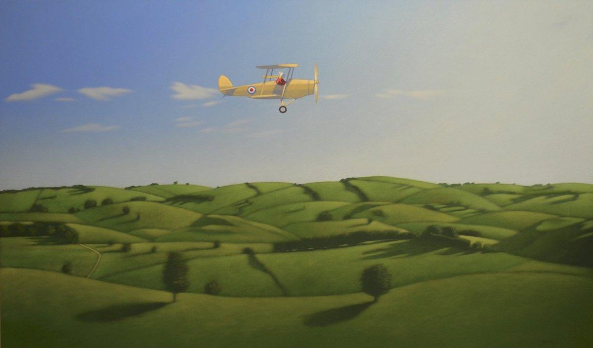 I'm homesick for travel #travel #journey #adventure @Qantas #painting #art #Australia #flying<br>http://pic.twitter.com/PM6MtEofSm