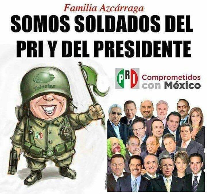 Soldados del PRI y @EPN #FelizMartes htt...