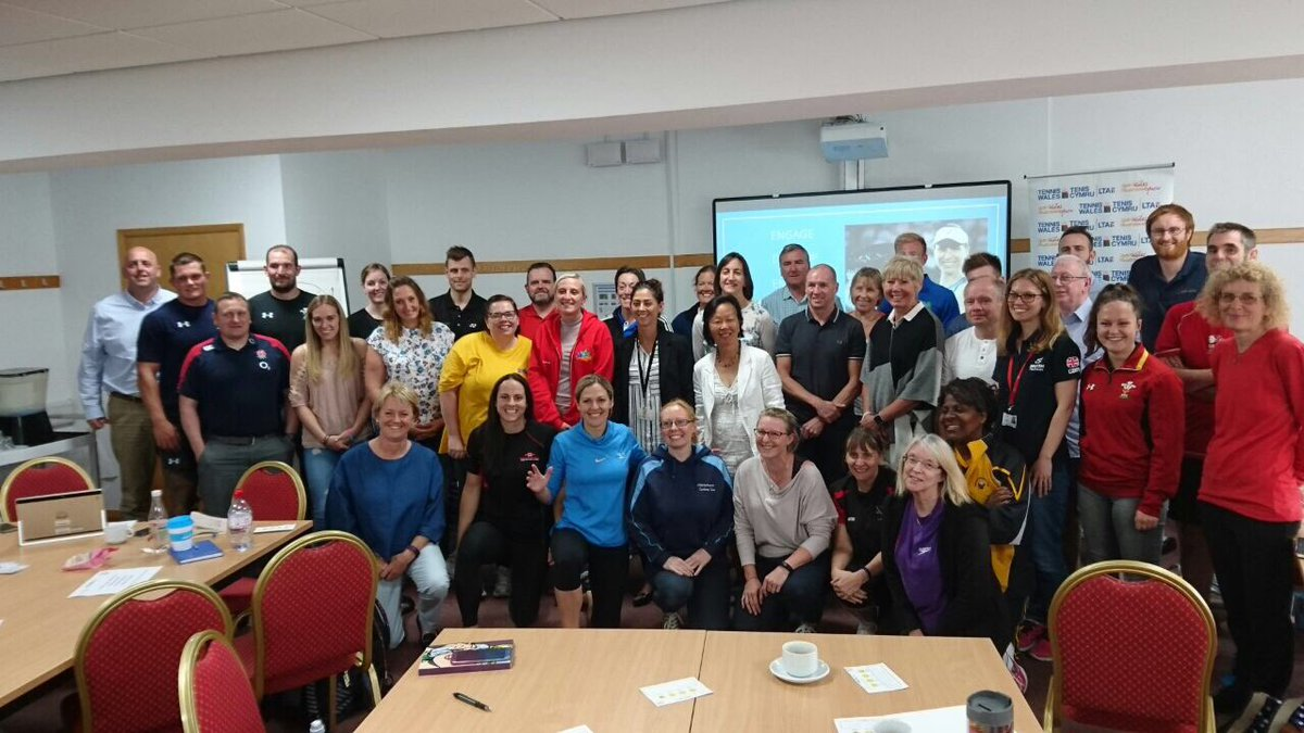 Great morning! Thanks @sport_wales @tenniswales and everyone for taking part, #Inspire #impact #improve<br>http://pic.twitter.com/mseh1STH5v